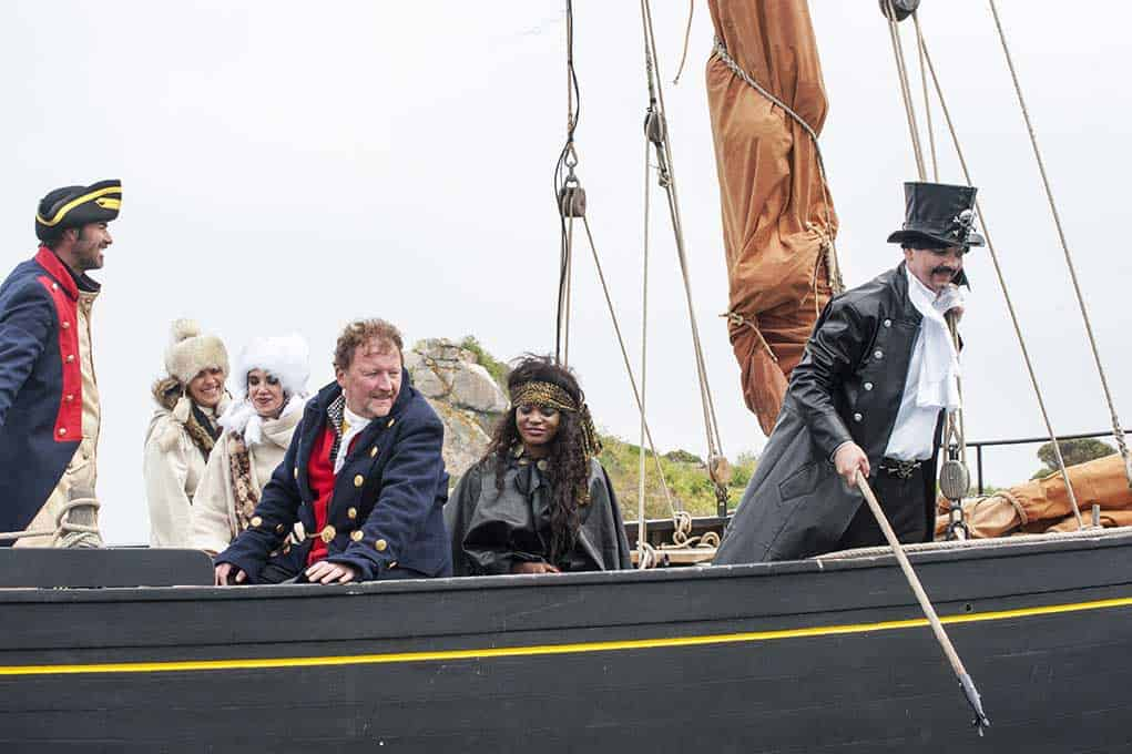 Pirates à bord d'Eulalie, à Bréhat